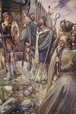ネッシー 世界最古の目撃者コルンバ