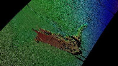 ネッシー 潜水艦の模型説