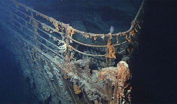 沈没したタイタニックの発見まで73年もかかった