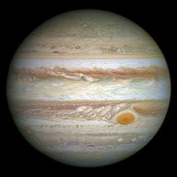 太陽系に木星がある