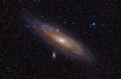 アンドロメダ銀河は猛スピードで地球に接近している