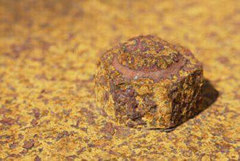 カンブリア紀の金属ボルト