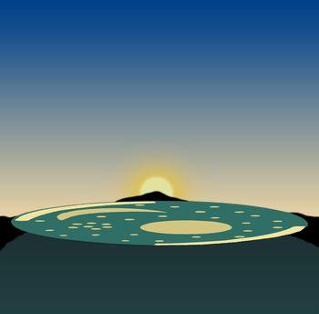 ネブラ・ディスクでの天体観測