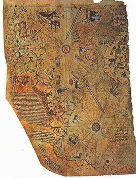 ピーリー・レイースの地図