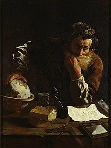 古代ギリシアの発明家アルキメデス