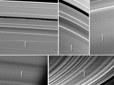 土星の輪から彗星衝突の歴史がわかる