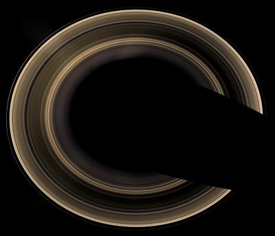 土星の輪はそれぞれ違った速度で回っている