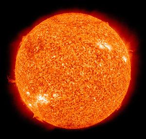 太陽は50億年後200倍の大きさになっている