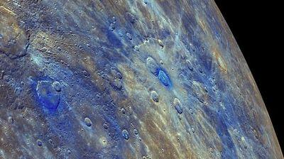 水星には水がない