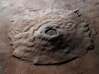 火星の山はめちゃくちゃ大きい