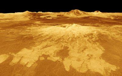 金星には硫酸の雨が降る
