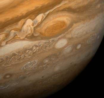 木星の模様