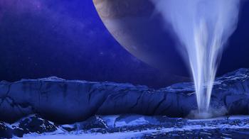 木星衛星エウロパの水