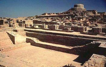 モヘンジョダロの考古遺跡