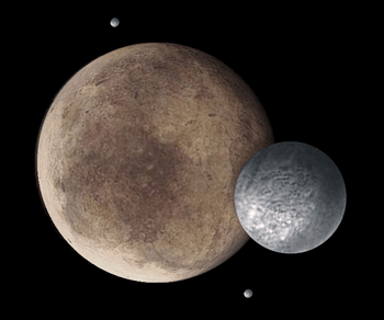 冥王星の衛星カロン