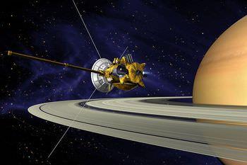 土星探査機カッシーニ