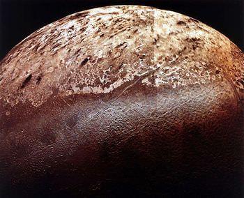 海王星の衛星トリトン