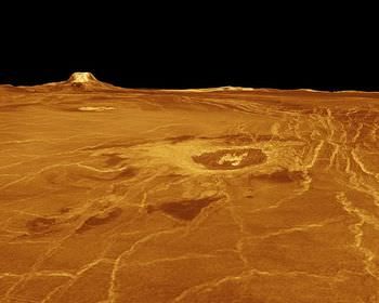 金星の地形