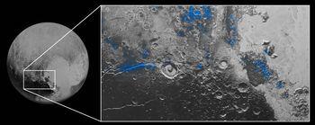 冥王星の内部の海