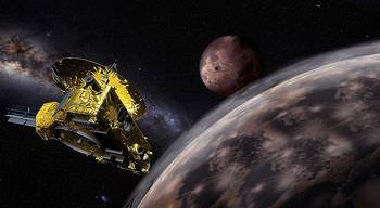 冥王星の探査機
