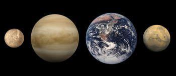 水星の大きさ