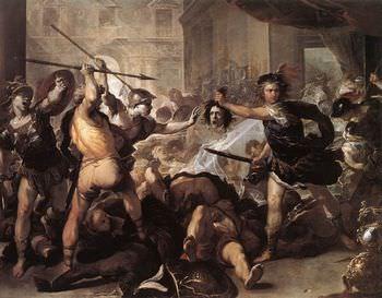 アテナとペルセウス
