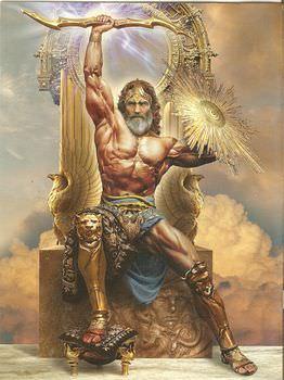 ローマ神話の中のゼウス