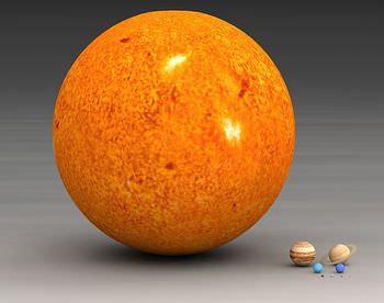 太陽の大きさ