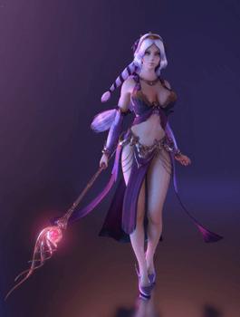 戦の女神アフロディーテ