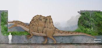 スピノサウルスの大きさは?