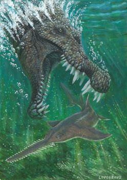 スピノサウルスは何を食べていた?