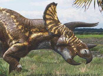 トリケラトプスの名前の由来は?