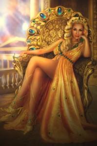 ヘーラーと黄金の椅子
