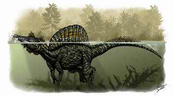 スピノサウルスは水辺に生息していた?
