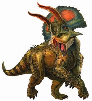 トリケラトプスのフリルの意味は?