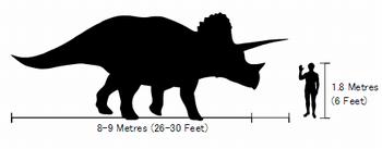 トリケラトプスの大きさは?