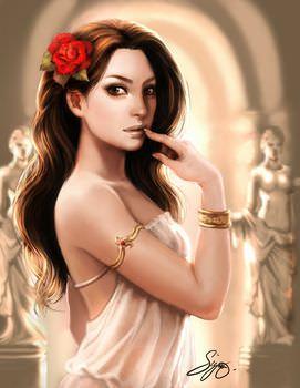 ヘパイストスの妻アフロディーテ