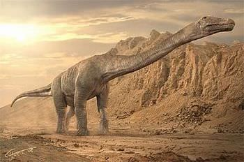 ティタノサウルスの名前の由来は?
