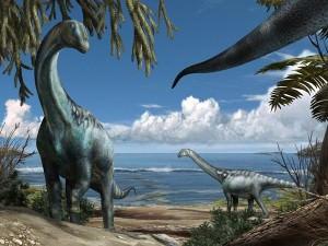 ティタノサウルス類の子育て