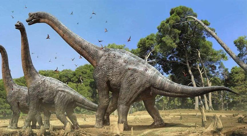 ジュラ紀の巨人ブラキオサウルス!その生態と水中活動説の真実