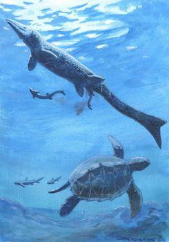 モササウルスの出産方法は?
