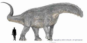 ティタノサウルスの大きさは?