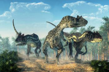 アロサウルス 群れ
