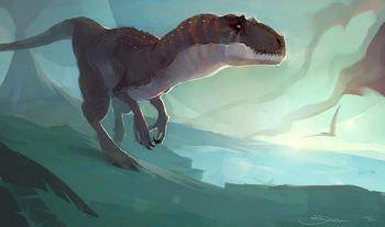 アロサウルス 走る速さ