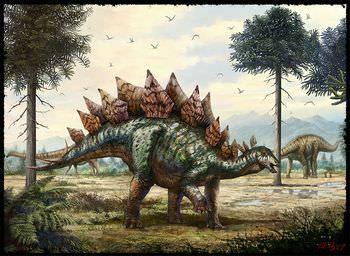 ステゴサウルス 骨板は何のため