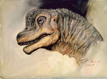 ブラキオサウルス 石