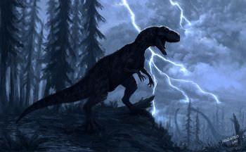 アロサウルスの嗅覚と聴覚