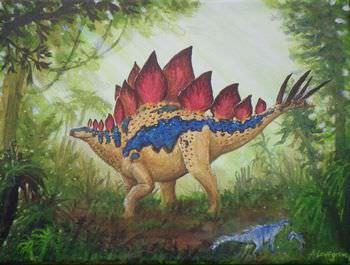 ステゴサウルス 名前の由来