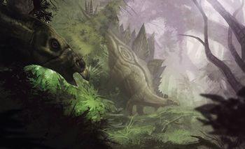 ステゴサウルス 脳