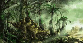 ステゴサウルス 食性